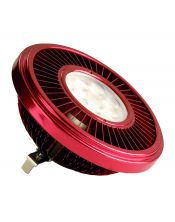 LED QRB111 rouge 19,5W 30° 2700K variable