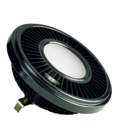 LED QRB111 noir 19,5W 140° 2700K variable