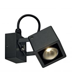 NAUTILUS SQUARE LED WL applique carré, anthracite, 6W, 3000K
