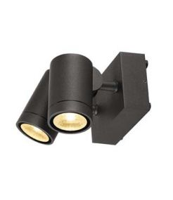 applique double HELIA, anthracite, 2x8W LED, 3000K