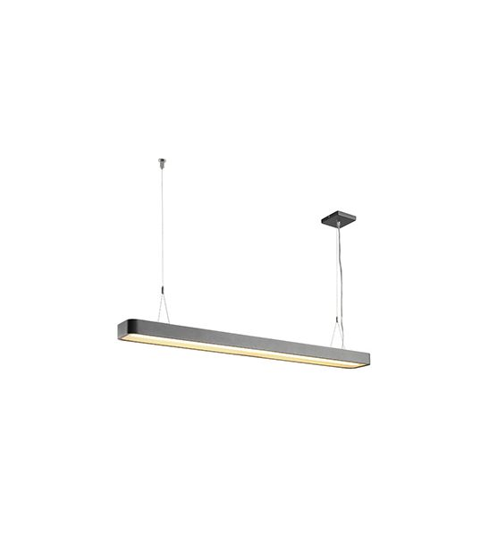 WORKLIGHT LED, suspension anthracite, SMD LED 3x 53W, 3000K, variable