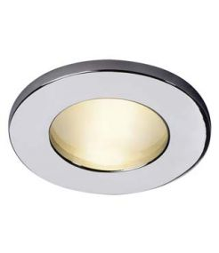 DOLIX OUT MR16 ROND, encastré, chrome, max. 35W