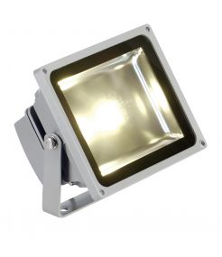 LED OUTDOOR BEAM, gris argent, 30W, 3000K, 100°, IP65