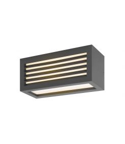 BOX_L, applique/plafonnier, anthracite, LED 19W 3000K, IP44