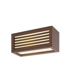BOX_L, applique/plafonnier, rouille, LED 19W 3000K, IP44