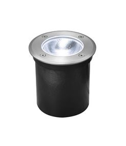 ROCCI 125 ROND 6W LED, encastre de sol ext., Inox 316, LED 4000K IP67