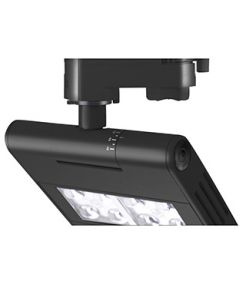 LENITO TRACK, noir, LED 23W, 3000K, adaptateur 3 all inclus