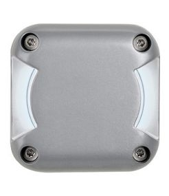 Led plot carre, 2 fenetres, gris argent