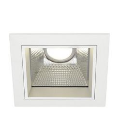 LED DOWNLIGHT PRO S, CARRE, BLANC, AVEC MODULE FORTIMO LED DISC, 4000K